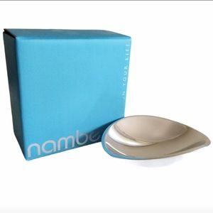Nambe Silver Tricorner Small Bowl